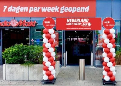 Ballonnenboog Media Markt