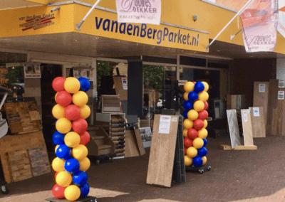 VanDenBergParket Ballonnenpilaren