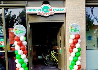 Ballonnenpilaar New York Pizza Noordwijk