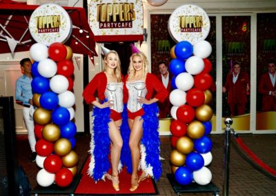 Ballonnen bij de Toppers Party Cafe