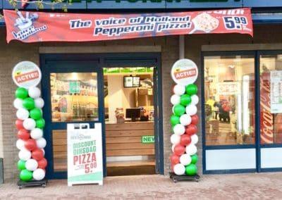 Ballonnenpilaar New York Pizza