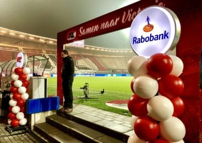 Ballonpilaar Rabobank