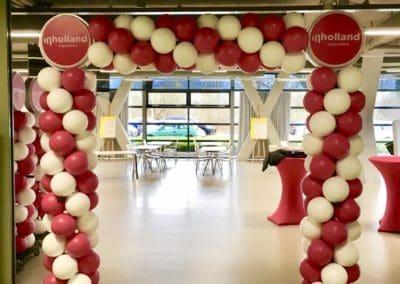 Ballonnenboog bij InHolland