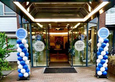 Ballonpilaar Grand Hotel Amstelveen