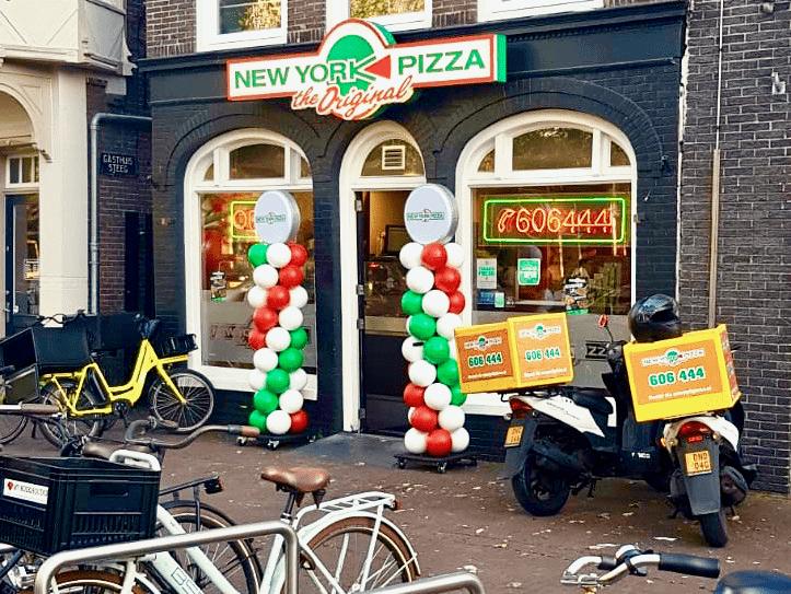 NY Pizza Purmerend Ballonpilaar