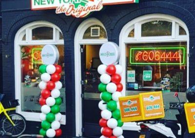 NewYork Pizza Purmerend Ballonnepilaar