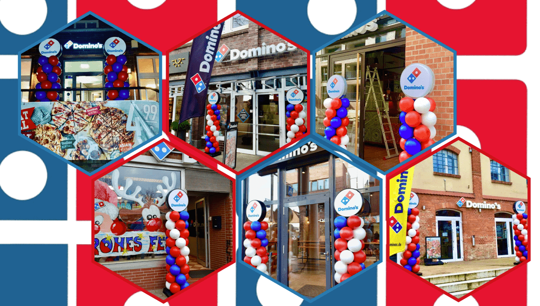 Domino's branches increase visibility in Germany
