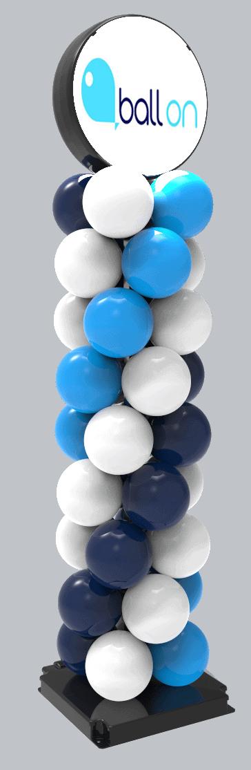 Duurzame ballonnenpilaar kopen