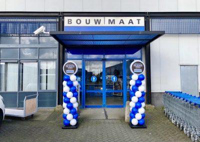 Ballonnenpilaren Bouwmaat in Alkmaar