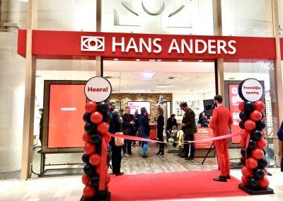 Ballonnenpilaar Hans Anders opening